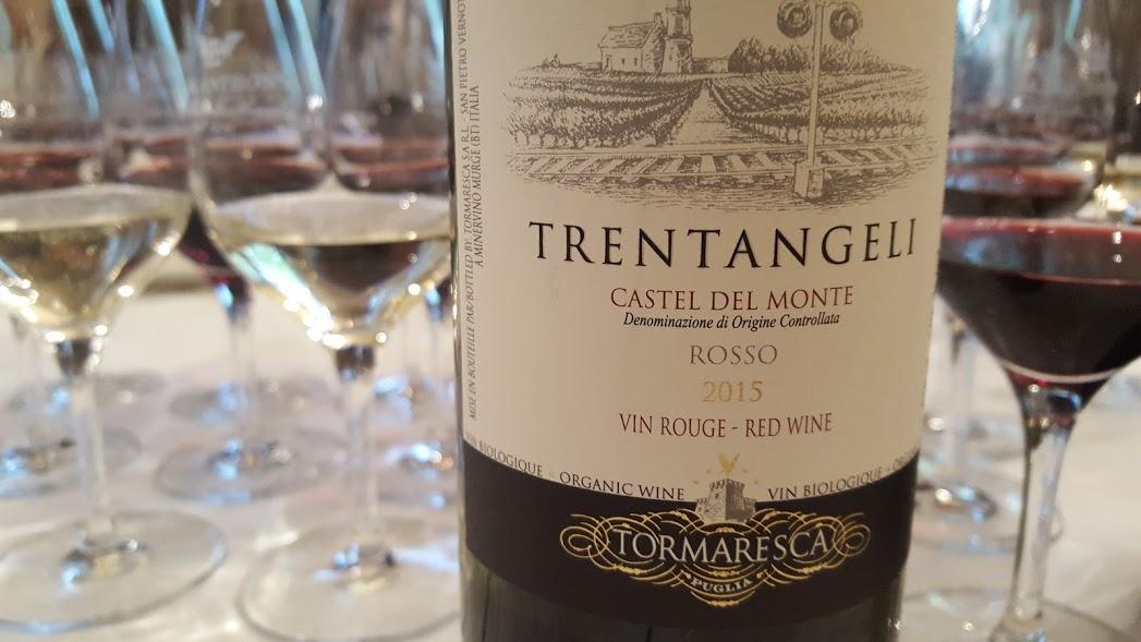 Antinori Trentangelli 2015 Castel del Monte Tormaresca bio