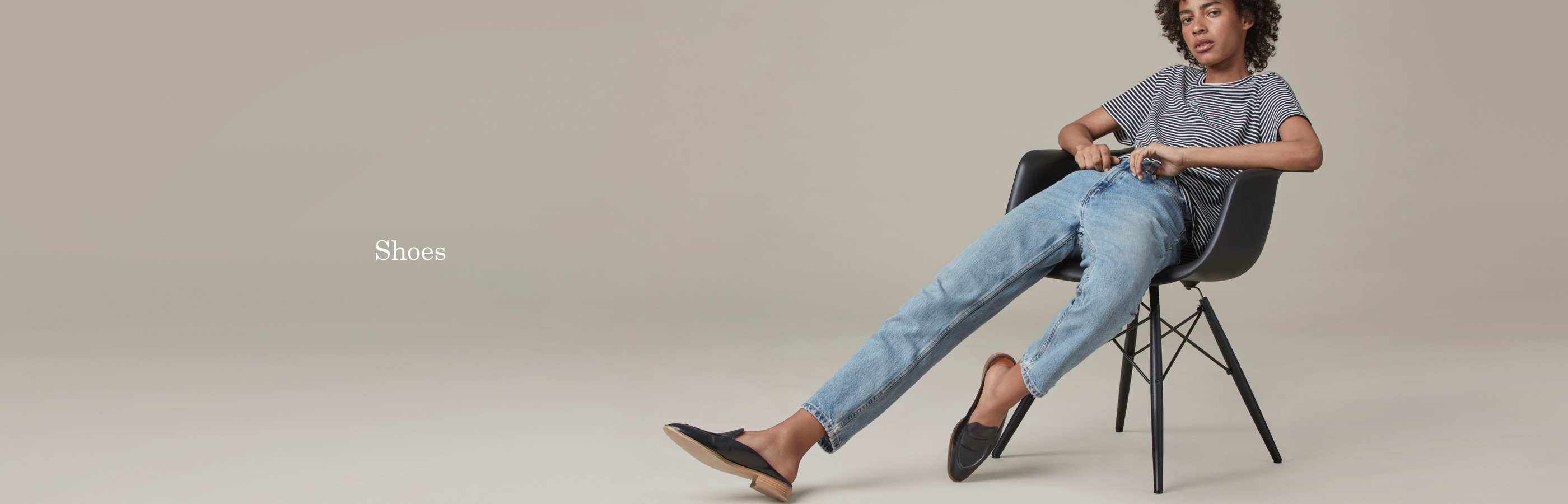 Everlane, The modern loafer Mule (155$US). Photo : www.everlane.com