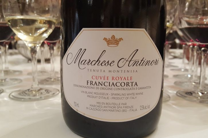 Marchese Antinori Cuvée Royale Brut Franciacorta
