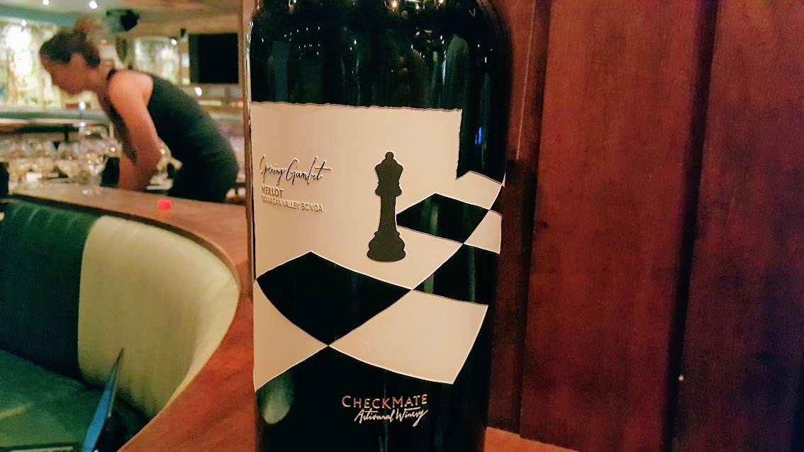 vin bio vins CheckMate Okanagan