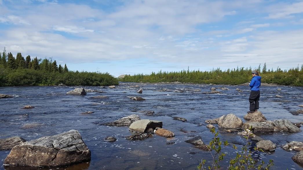 Pêche à Kuujjuaq
