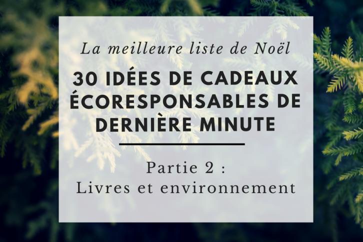 Livres et environnement