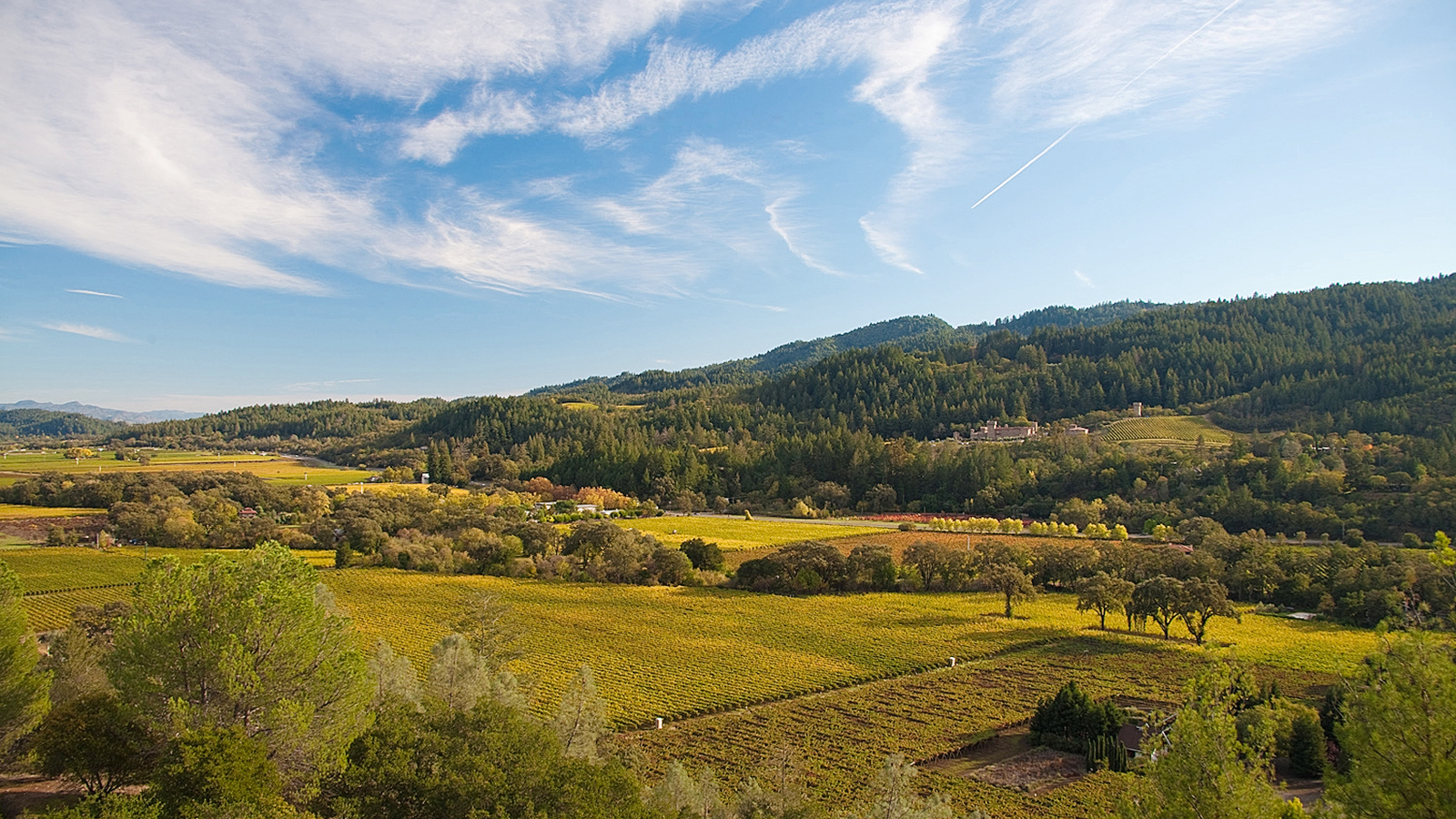 Sterling Vineyards. Napa Valley