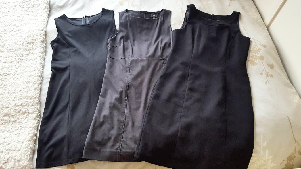 Robes de bureau trouvées dans des friperies, Montréal