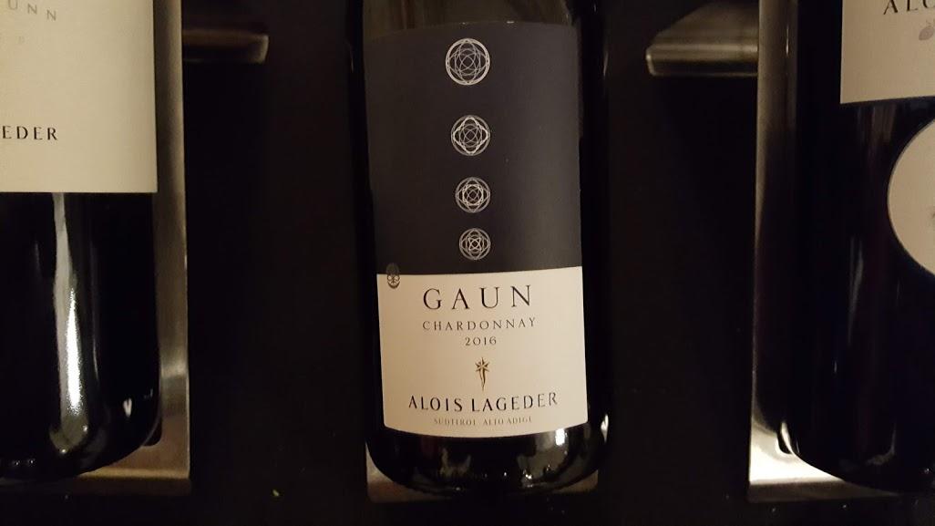 Grande caravane 2018 Mark Anthony Wine & Spirits Alois Lageder Gaun Chardonnay