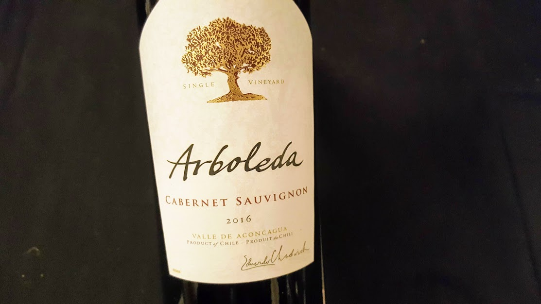 Grande caravane 2018 Mark Anthony Wine & Spirits Arboleda Cabernet-Sauvignon