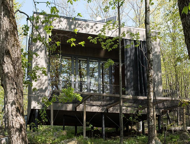 Hébergement écoresponsable Québec
