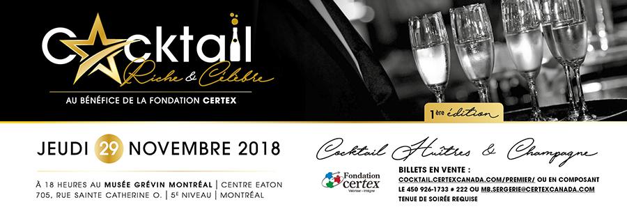 Certex - Cocktail Riche et Célèbre