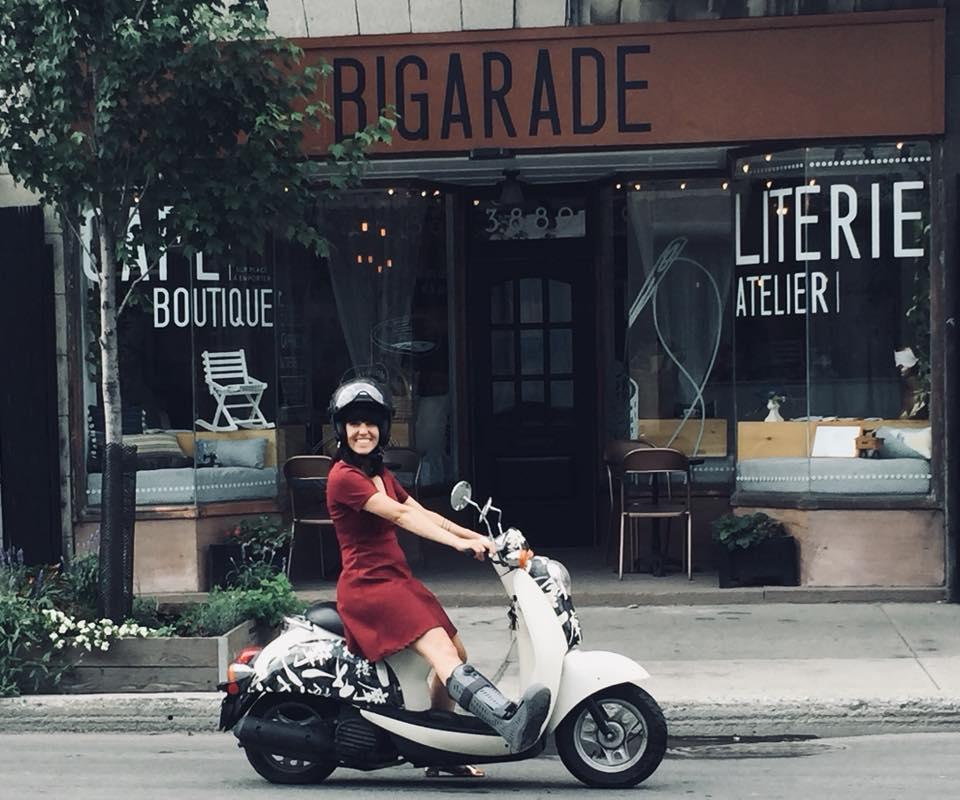 Oreiller Bigarade Montréal fait au Quebec