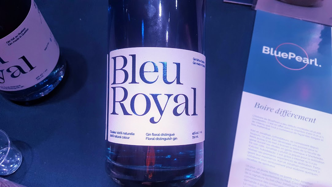 Grand-Messe des média 2019 Fondation Montréal MTL Inc. Bleu Royal distillerie BluePearl