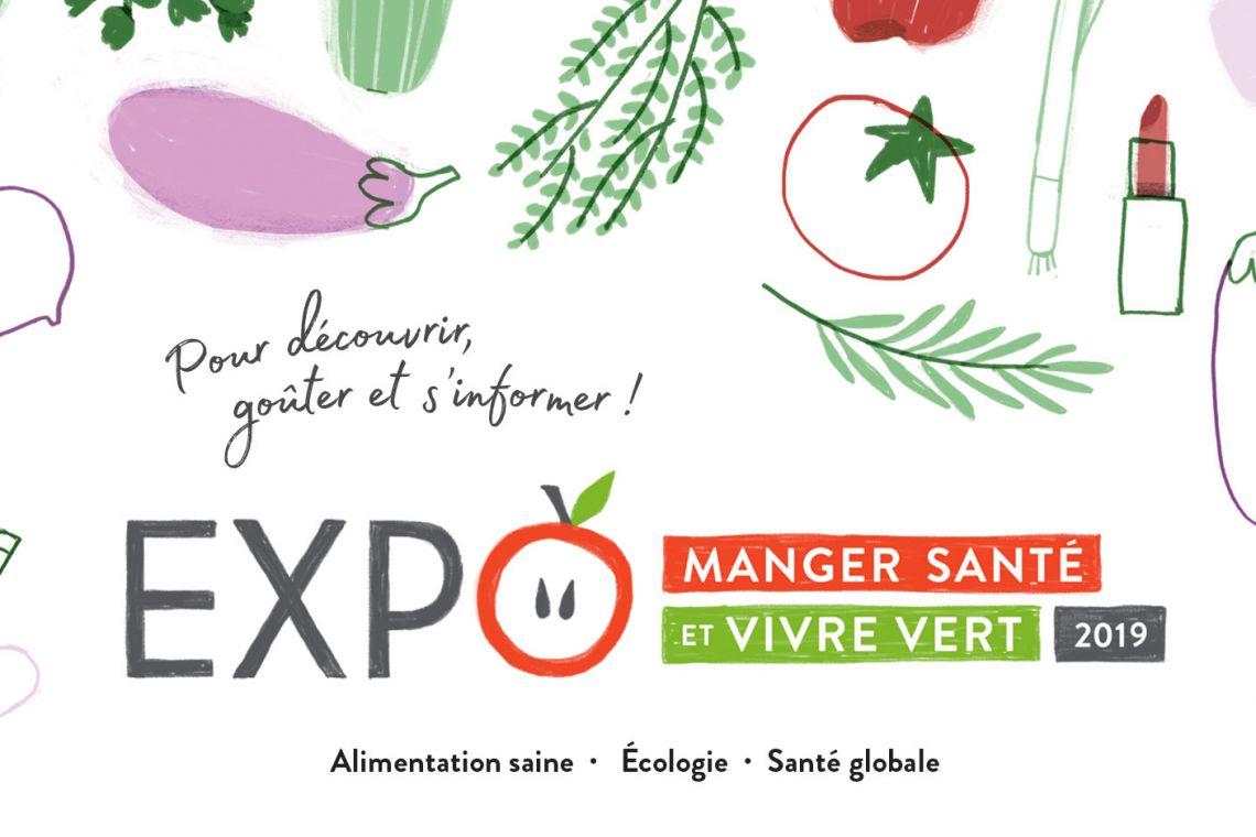 Expo Manger santé et vivre vert 2019