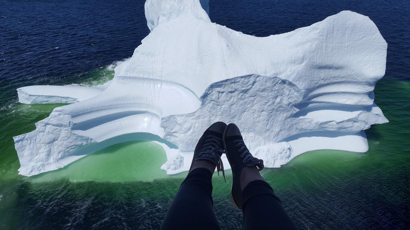 Un iceberg à Terre-Neuve en plein mois de juillet!