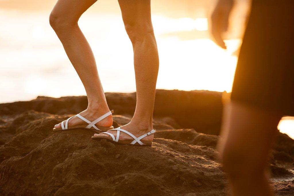 Sandales Biku (50$US). Photo : Indosole.