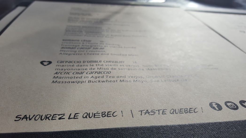 terrasse La Coupole bistro laurentien produits du Québec