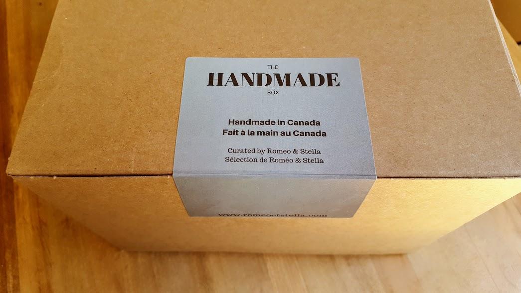 The Handmade Box, boîte trimestrielle