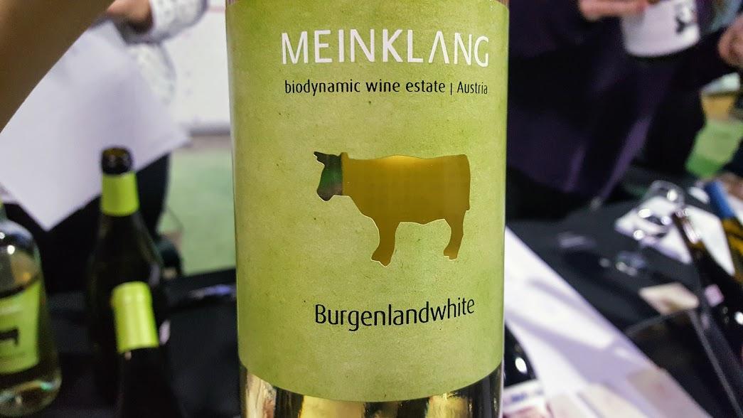 Slow Wine Montreal Salon des vins bio 2017 - Meinklang Burgenlanwhite Burgenlandweiss