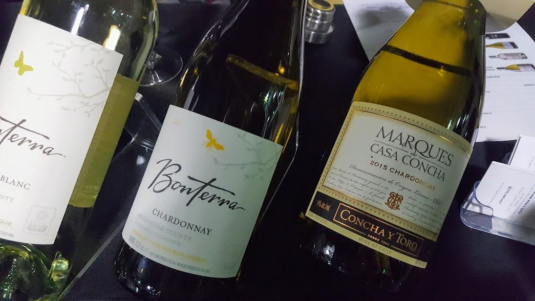 Slow Wine Montreal Salon des vins bio 2017 - Chardonnay Bonterra