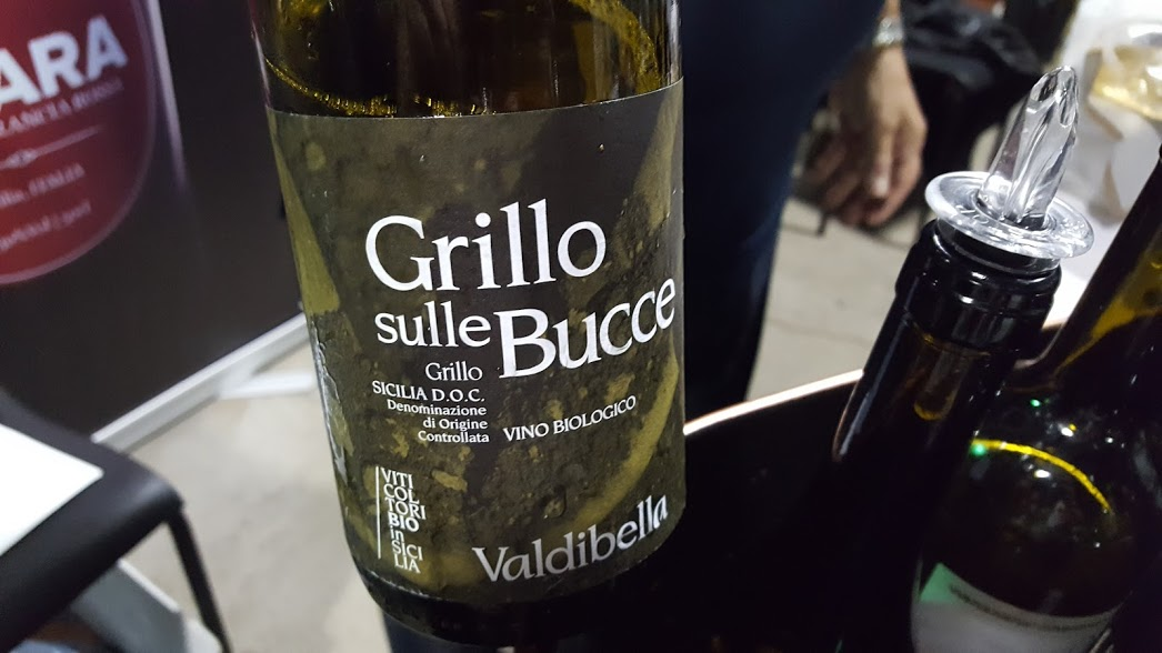 Slow Wine Montreal Salon des vins bio 2017 Grillo sulle Bucce Valdibella CentoVenti