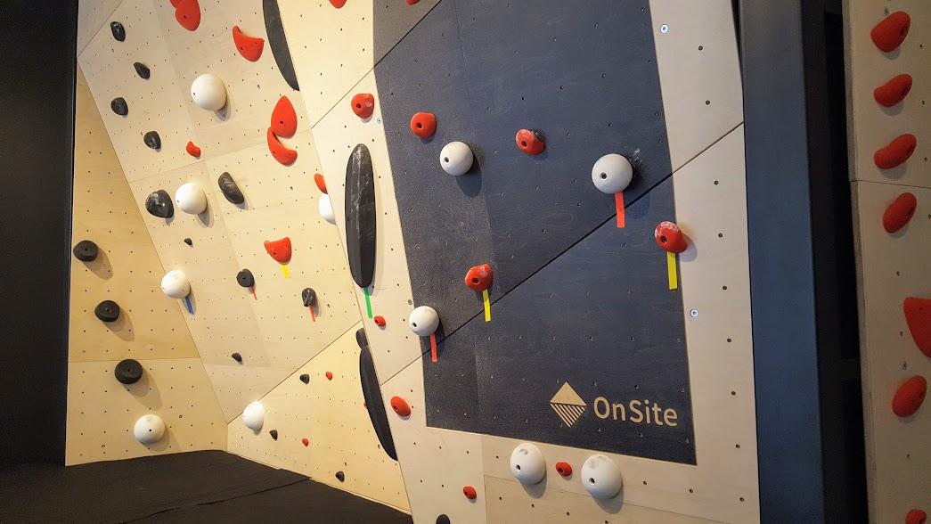 Boutique Arc'Téryx Montréal, OnSite mur d'escalade
