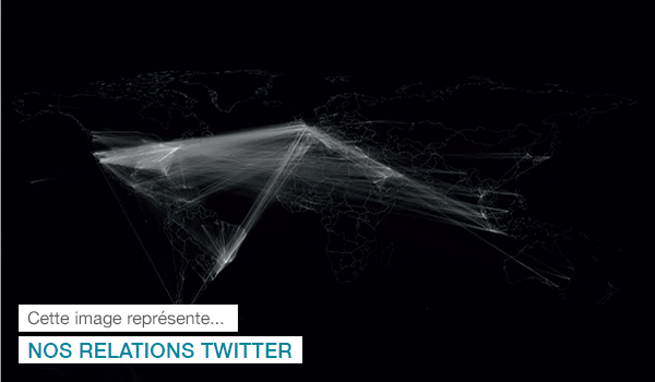 Relations Twitter, Atlas de notre temps, Alastair Bonnett