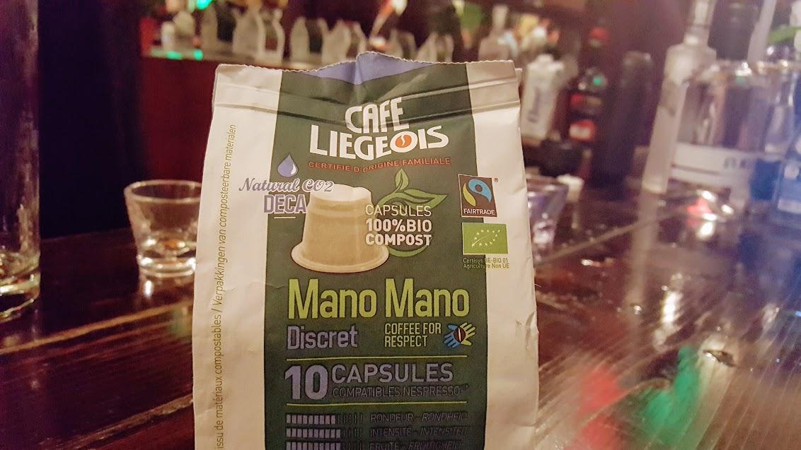 Café Liégeois, capsules réutilisables