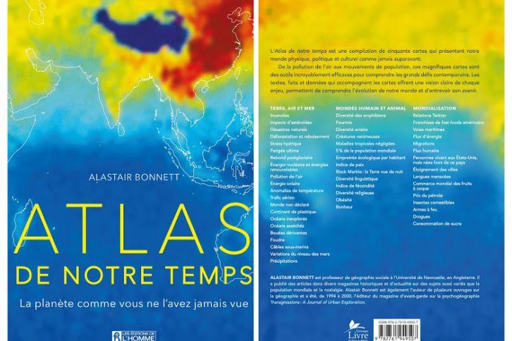 Atlas de notre temps, Alastair Bonnett, Éditions de l'Homme
