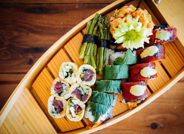 Restaurant végé, Sushi Momo