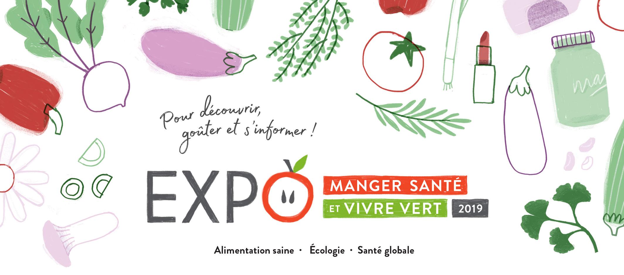 Expo manger santé et vivre vert 2019 Renée Frappier