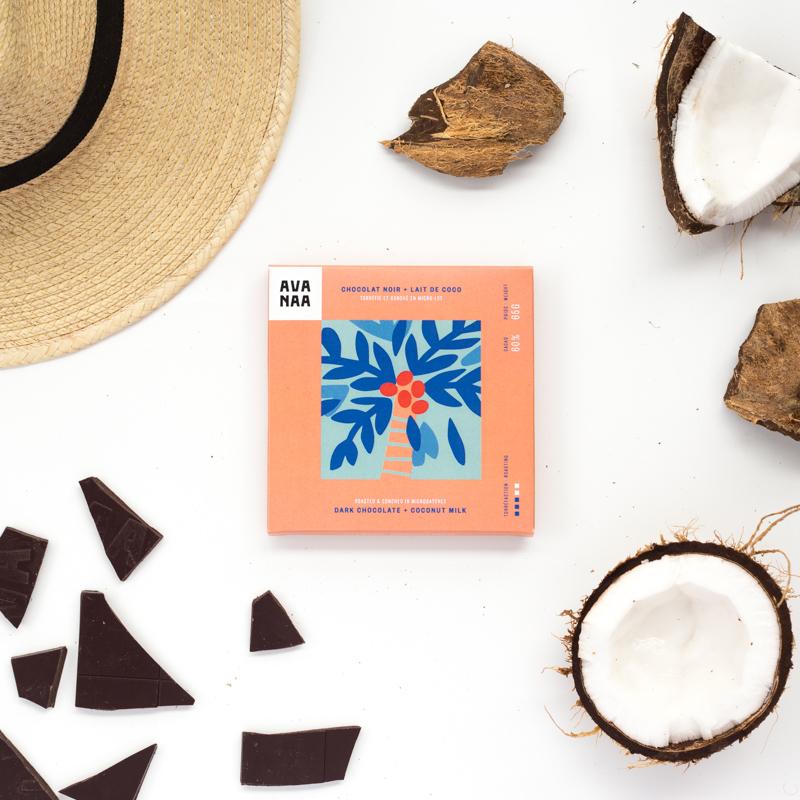 Cadeaux écoresponsables chocolat Avanaa