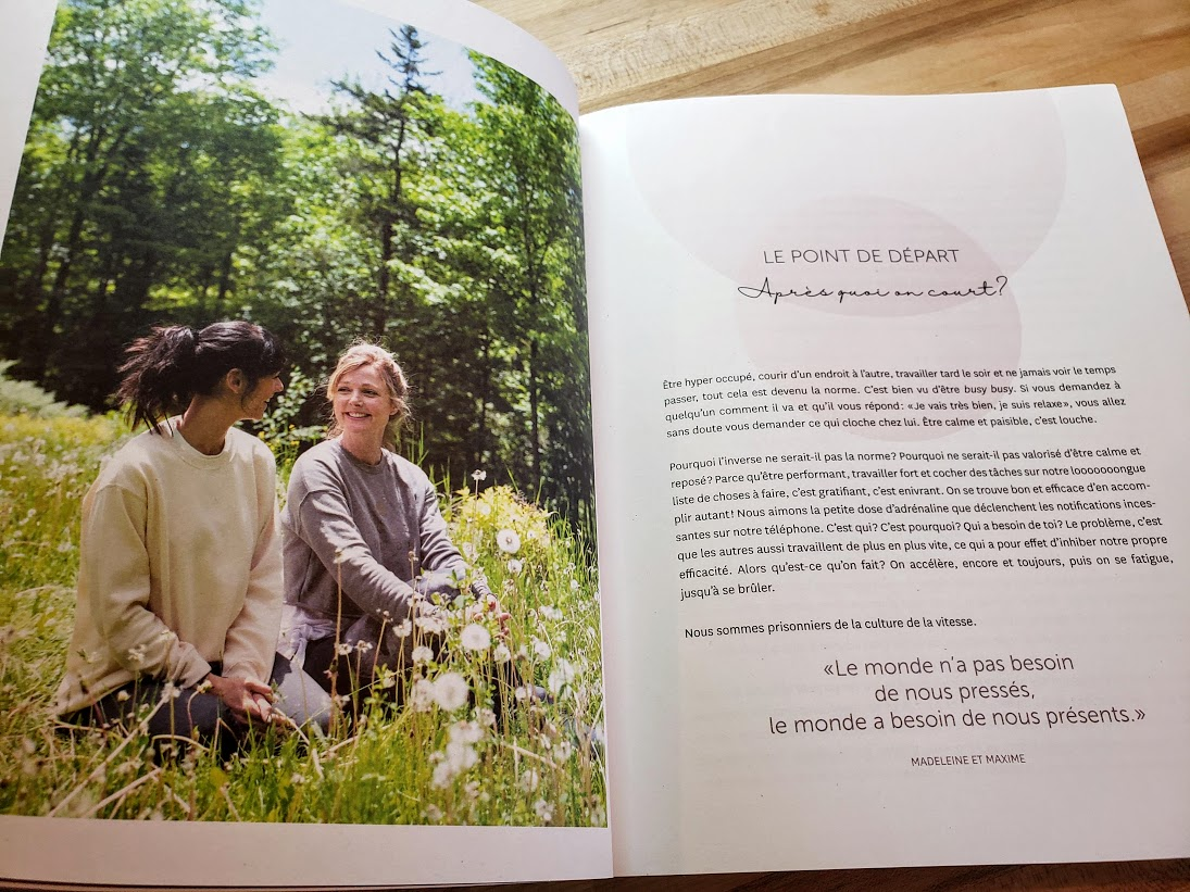 À GO on ralentit Madeleine Arcand Maxime Morin Rose Buddha