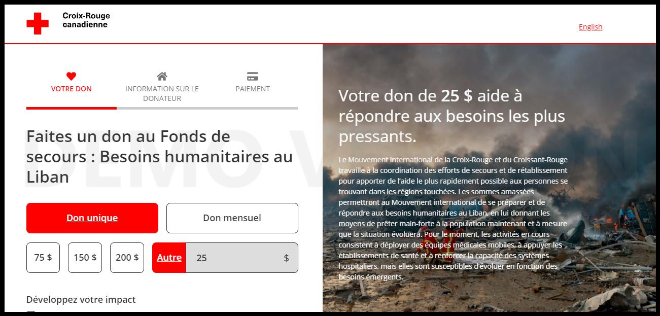Aider le Liban